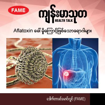 Diseases arising from aflatoxins