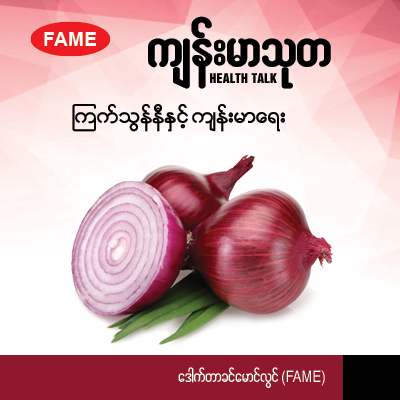 Onion and its effects on health