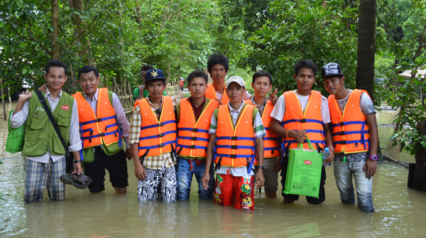 Donations for Flooding in Myanmar